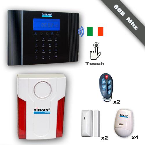Kit allarme senza fili 868 Mhz Frequenza Criptata prezzi di fabbrica